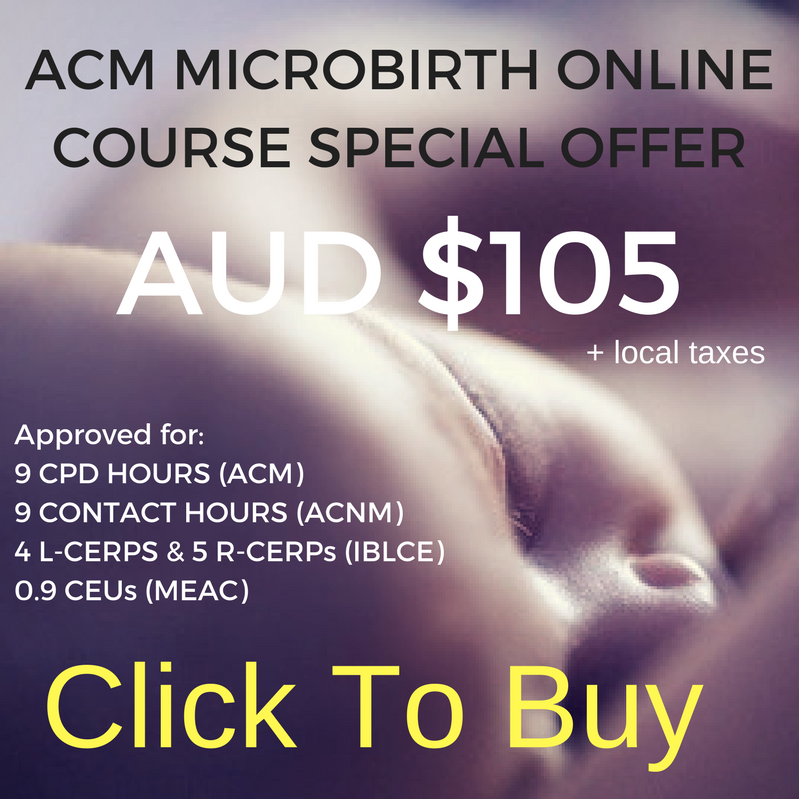 Australian College of Midwives Microbirth Online Course