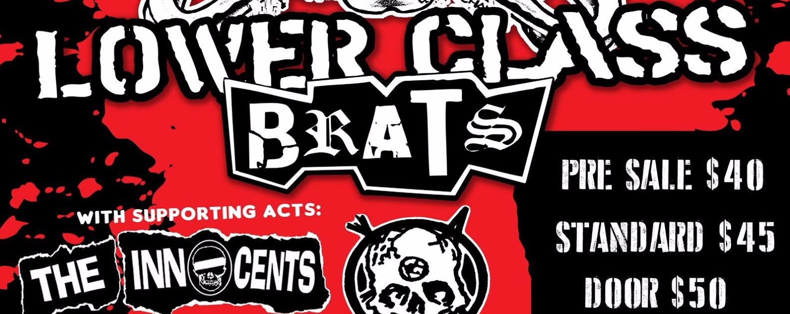 """Lower Class Brats """"Nights Of Horrorshow"""""""