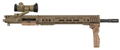 Furyarms FDE complete Parallax Tactical upper receiver