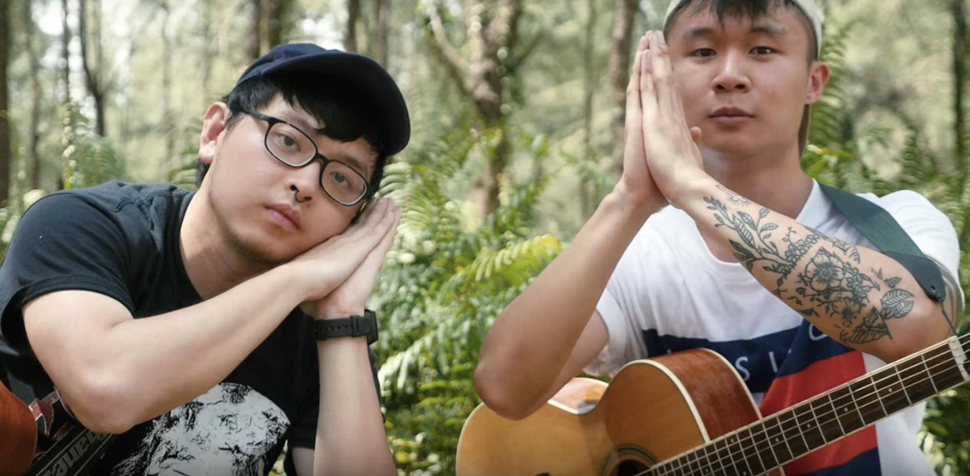 WATCH: Forests hike a Coney Island forest to perform 'Tamago' for Bandwagon Sessions
