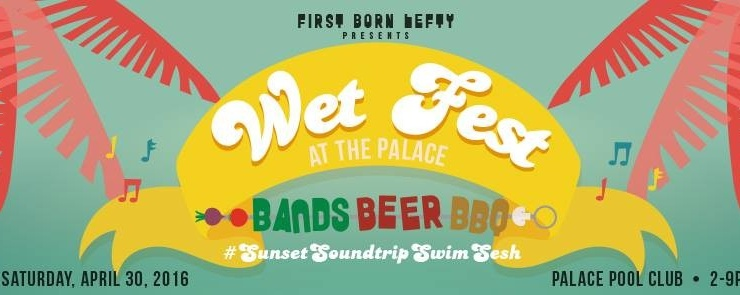 Wet Fest! Sunset Soundtrip Swim Sesh!