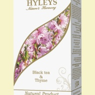 Black tea & Thyme from HYLEYS