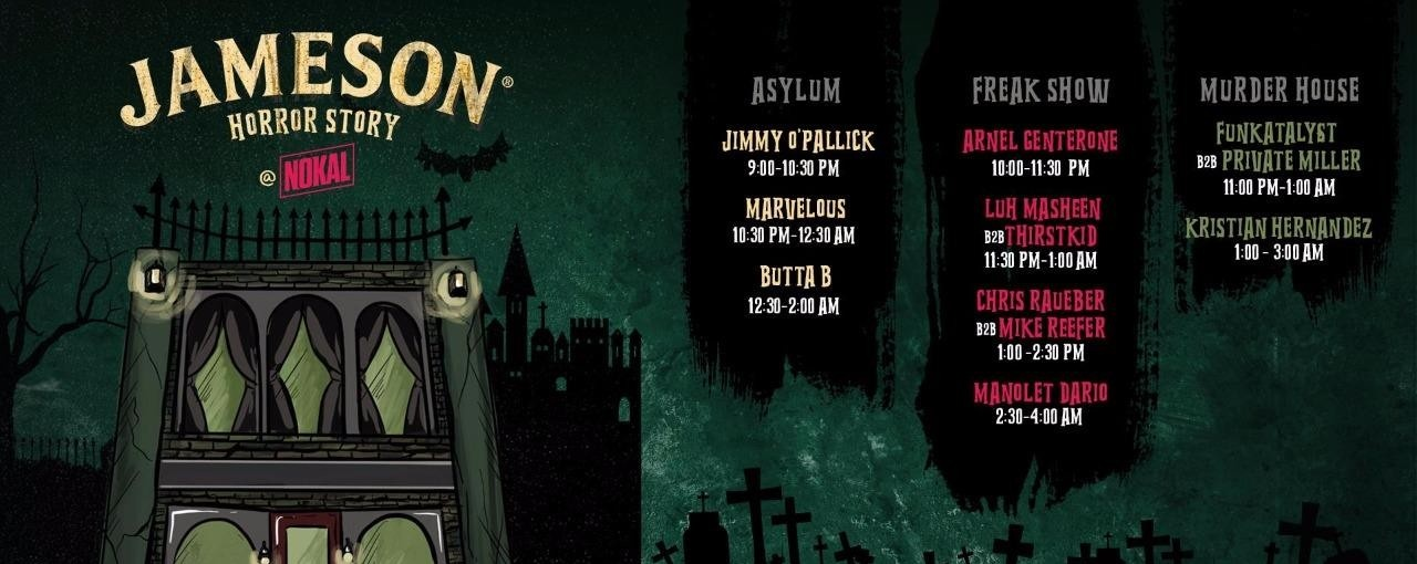 Jameson Horror Story