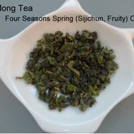Sijichun Taiwan Four Seasons Spring Dark Oolong Tea from jLteaco (fongmongtea)