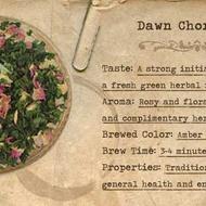 Dawn Chorus from Mountain Rose Herbs