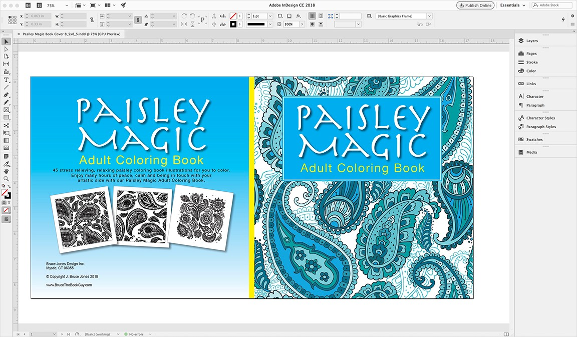 I Have Also Put Together A Series Of Videos On Building Coloring Book From Start To Published Finish Using InDesign Take You Through How