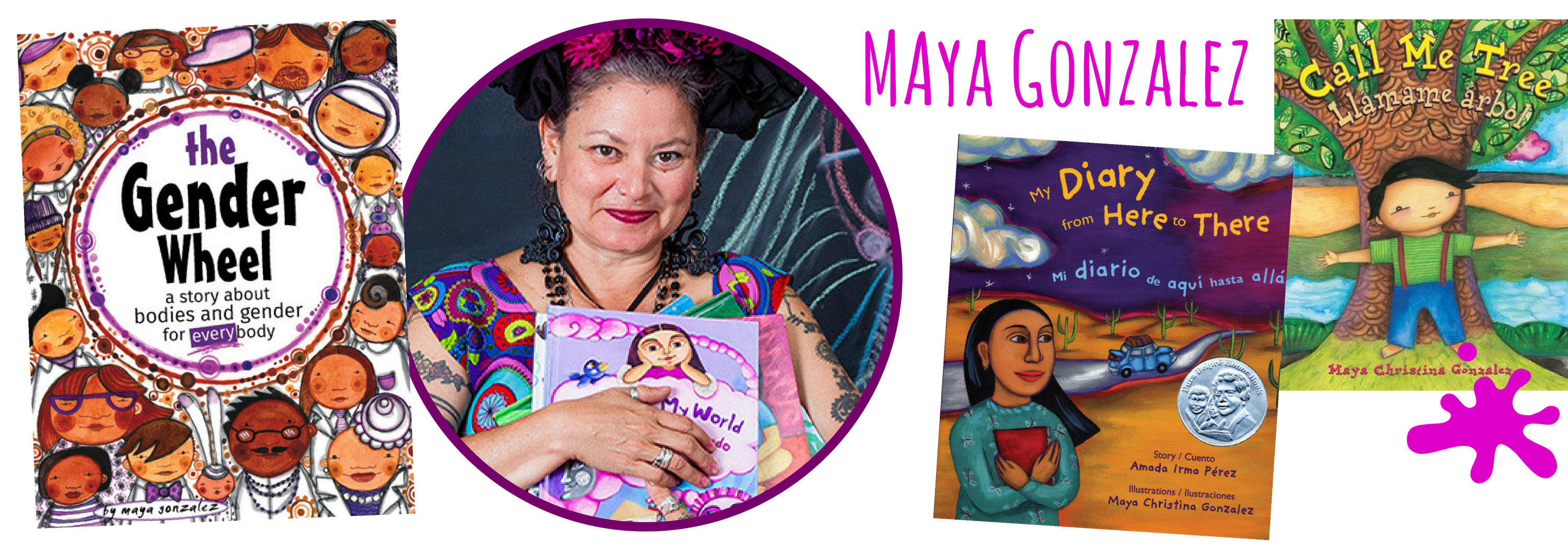 Maya Gonzalez for Children's Book Academy