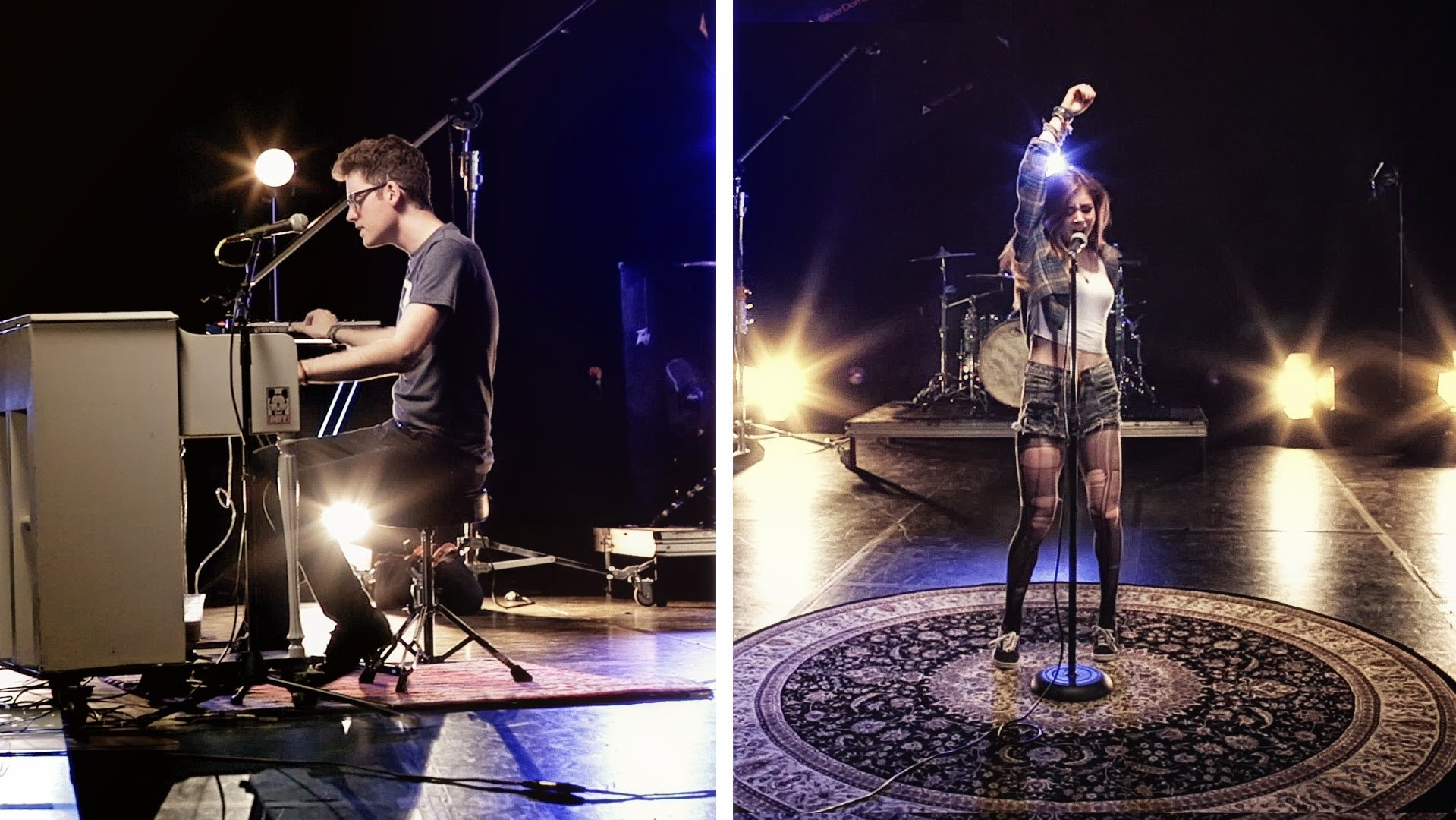 Alex Goot and Against The Current Live In Singapore 2014