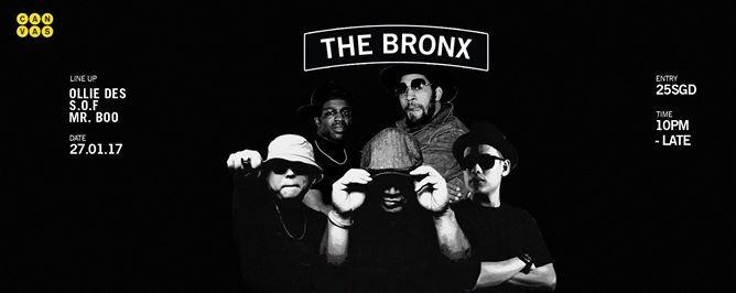 The Bronx ft. Ollie Des, SOF & Mr Boo