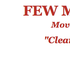 Few Moves, LLC | Winnabow NC Movers