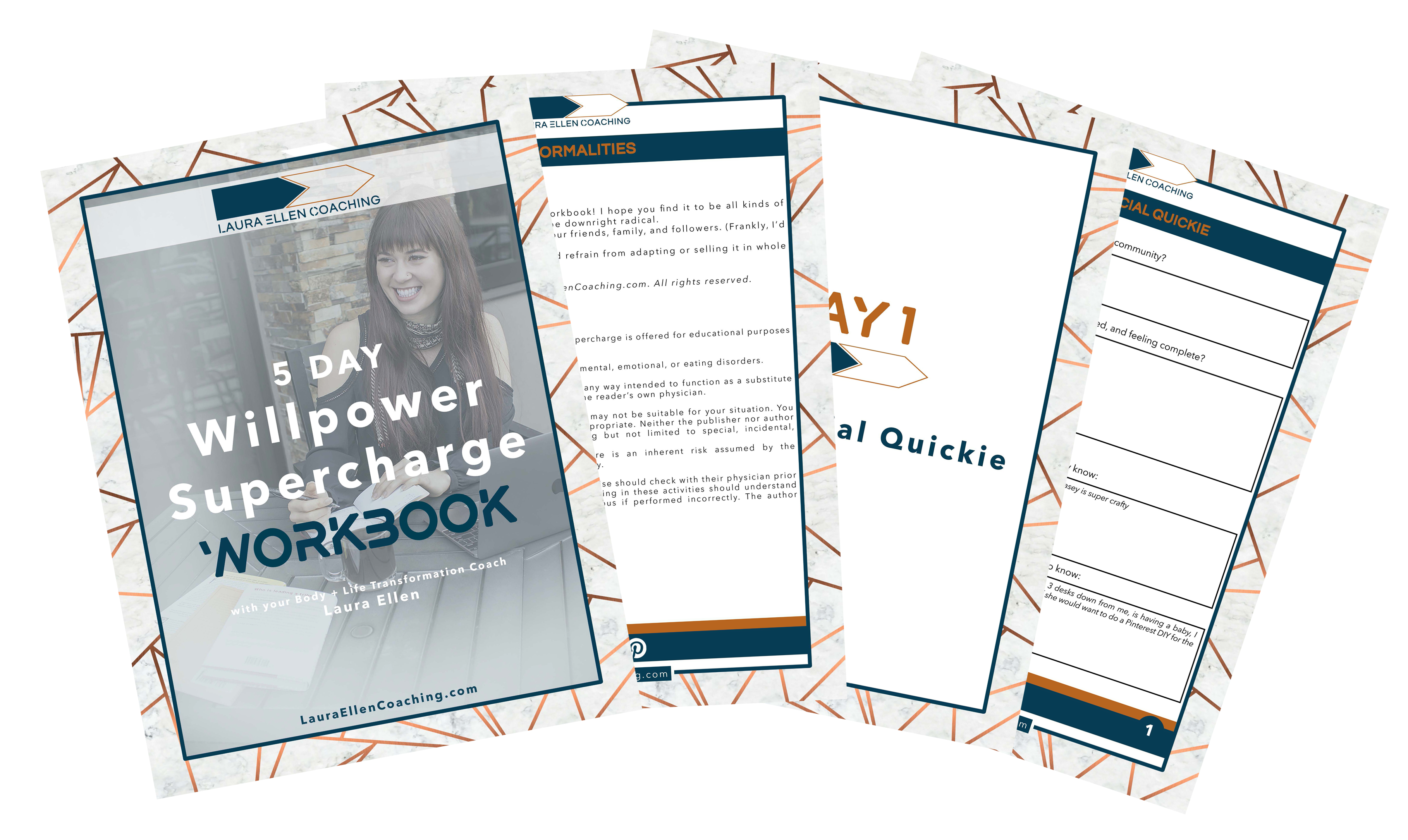 Diet Willpower Supercharge Course Workbook