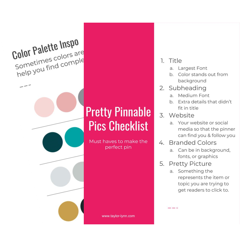 Course includes helpful printables to ensure you dont miss anything