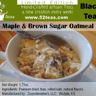 Maple and Brown Sugar Oatmeal Black Tea from 52teas