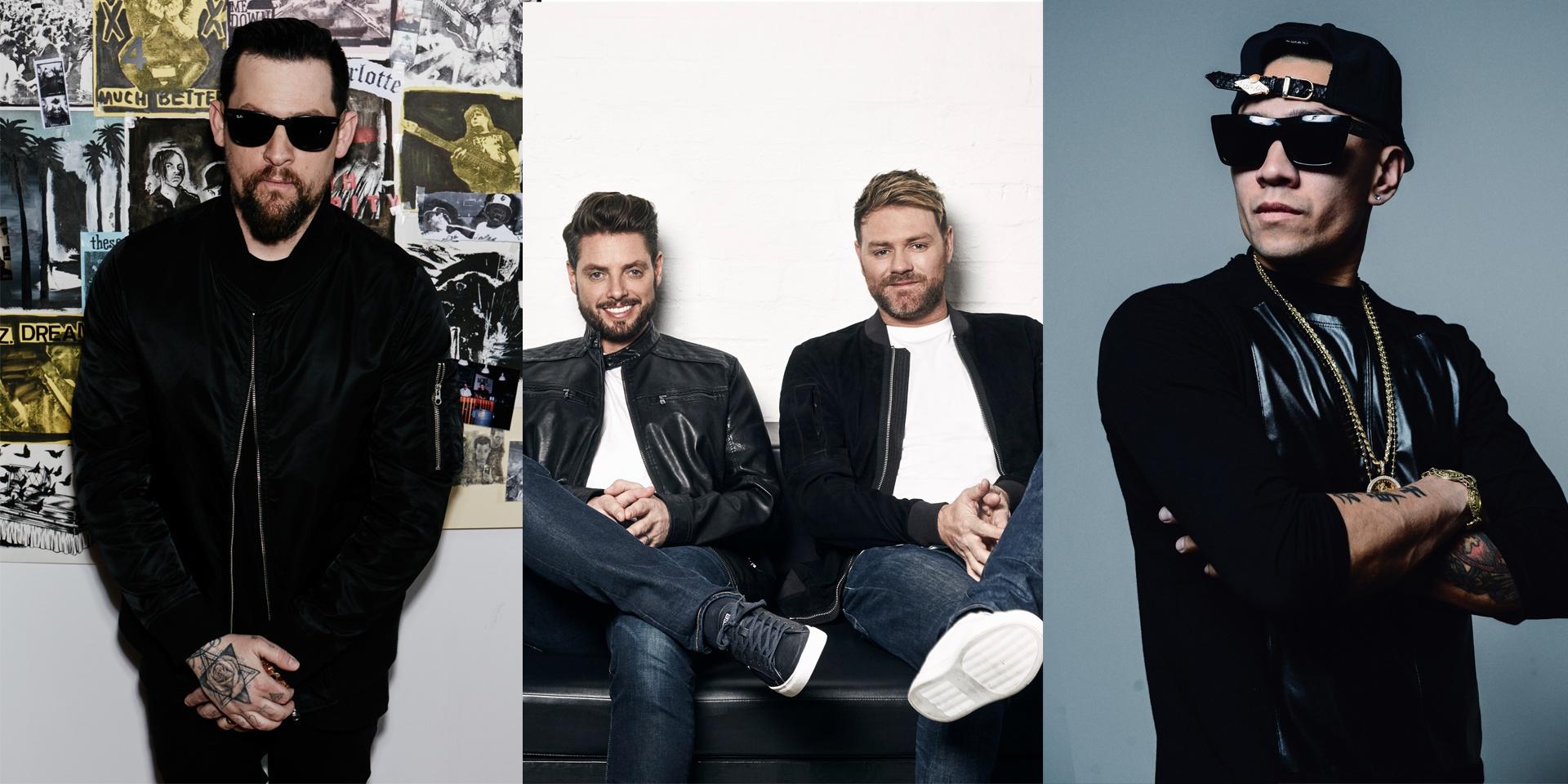 Boyzlife, Joel Madden (Good Charlotte) and Taboo (The Black Eyed Peas) to headline The Podium Lounge