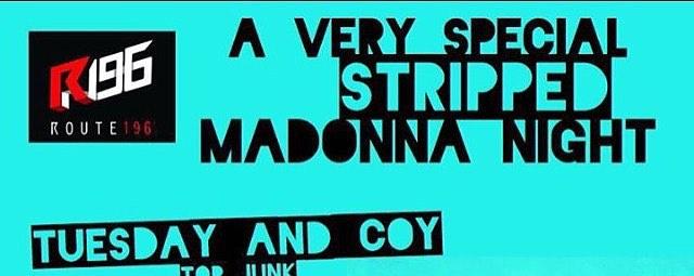 Stripped Madonna Night