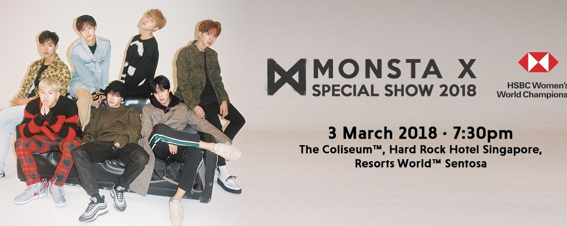 HSBC Women's World Championship Present  MONSTA X Exclusive Special Show