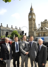 The Made in the Midlands delegation in Westminster