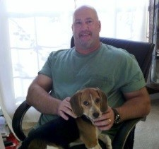 Chris Menard and Gracie the Beagle - Excel Trainer