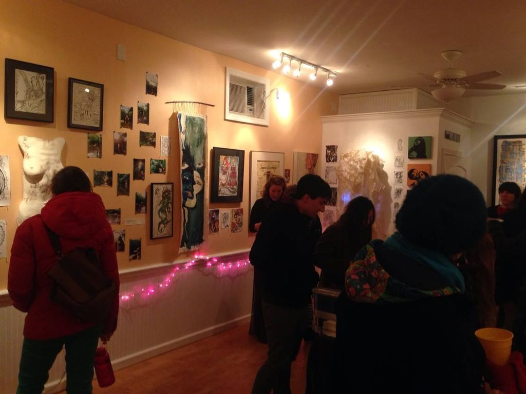 image: The gallery on Frankford Ave. had a healthy turnout