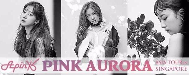 Apink Pink Aurora Asia Tour in Singapore 2016