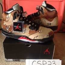 "Air Jordan Supreme 5 ""Desert Camo"" DS SZ 11.5"