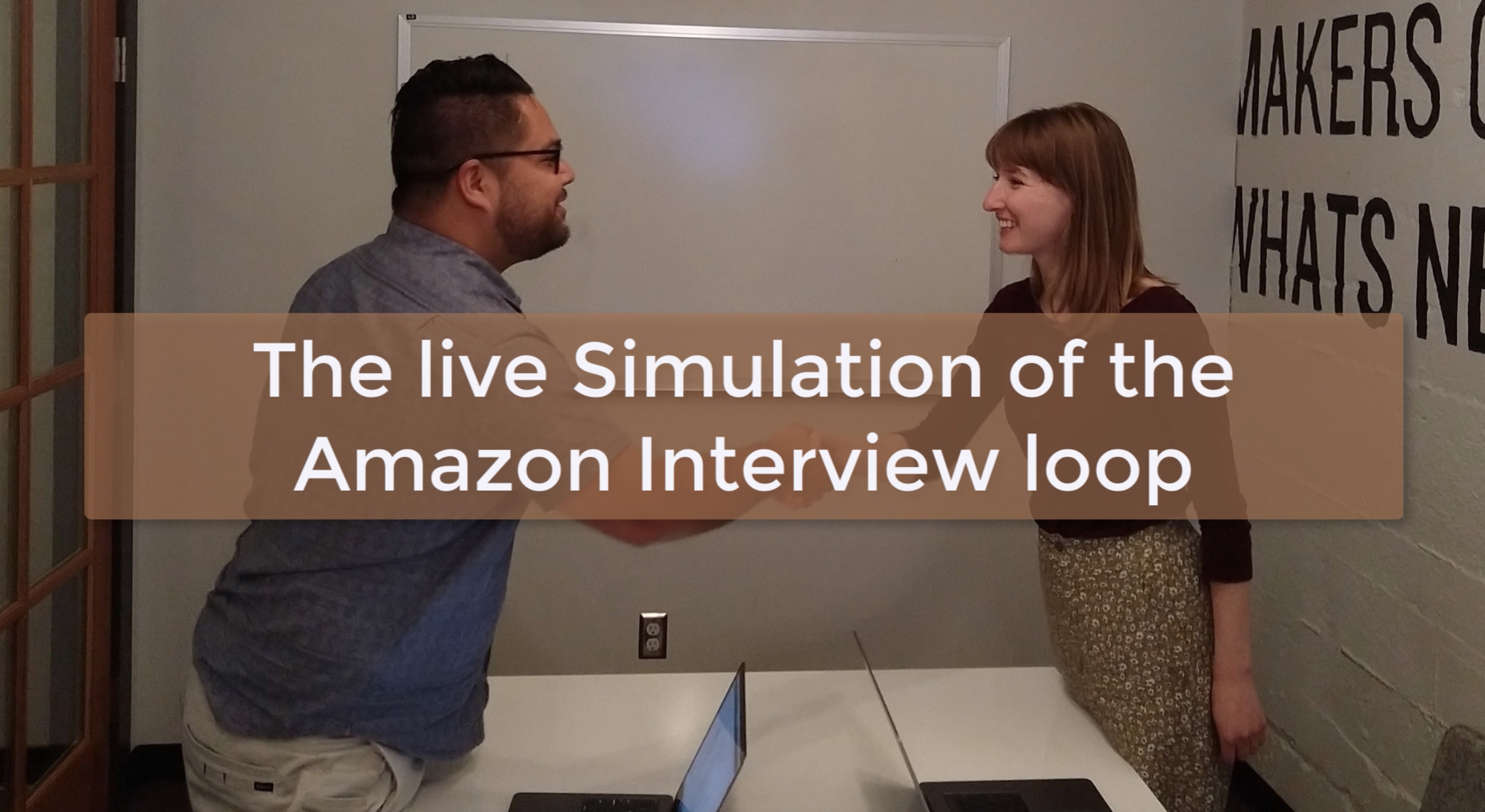 The live Simulation of the Amazon Interview loop