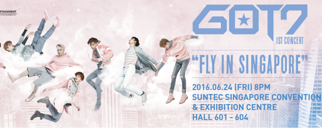 """GOT7 1st Concert: """"Fly In Singapore"""""""