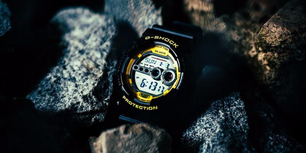 "DTW O' Clock: Darker Than Wax & Casio G-SHOCK collaborate on sleek ""New Times"" watch"