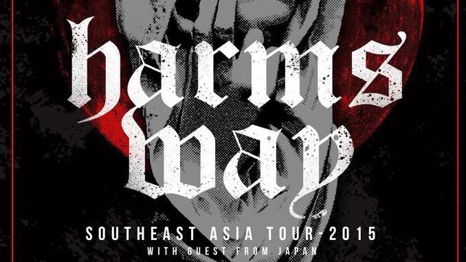 HARM'S WAY / PALM SOUTHEAST ASIA TOUR 2015
