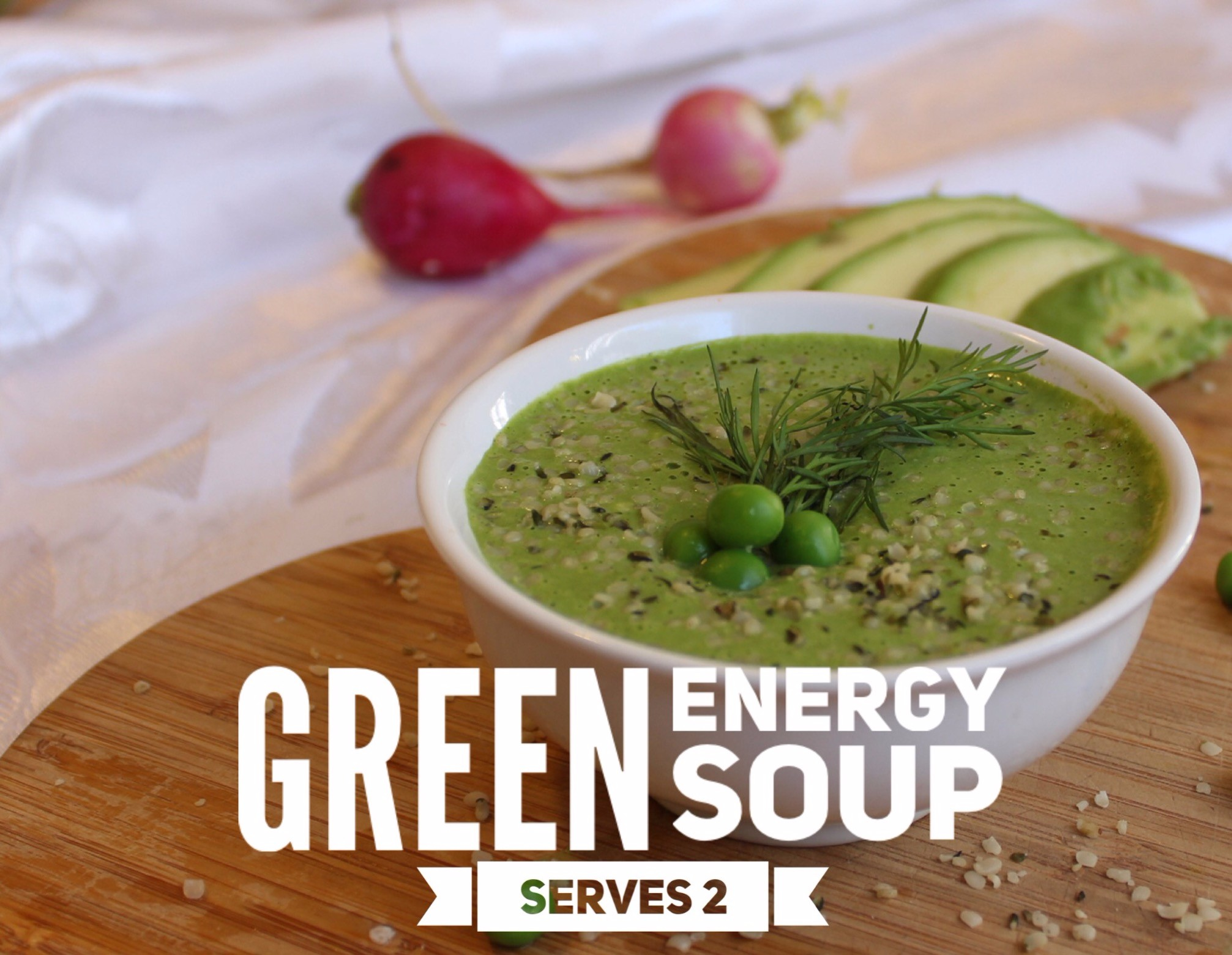 green energy soup - raw, vegan, plant-based