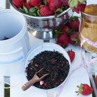 Organic Strawberry Skinny from The Rabbit Hole Organic Tea Bar