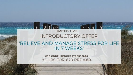 'Relieve and Manage Stress for Life in 7 Weeks' Introductory Offer