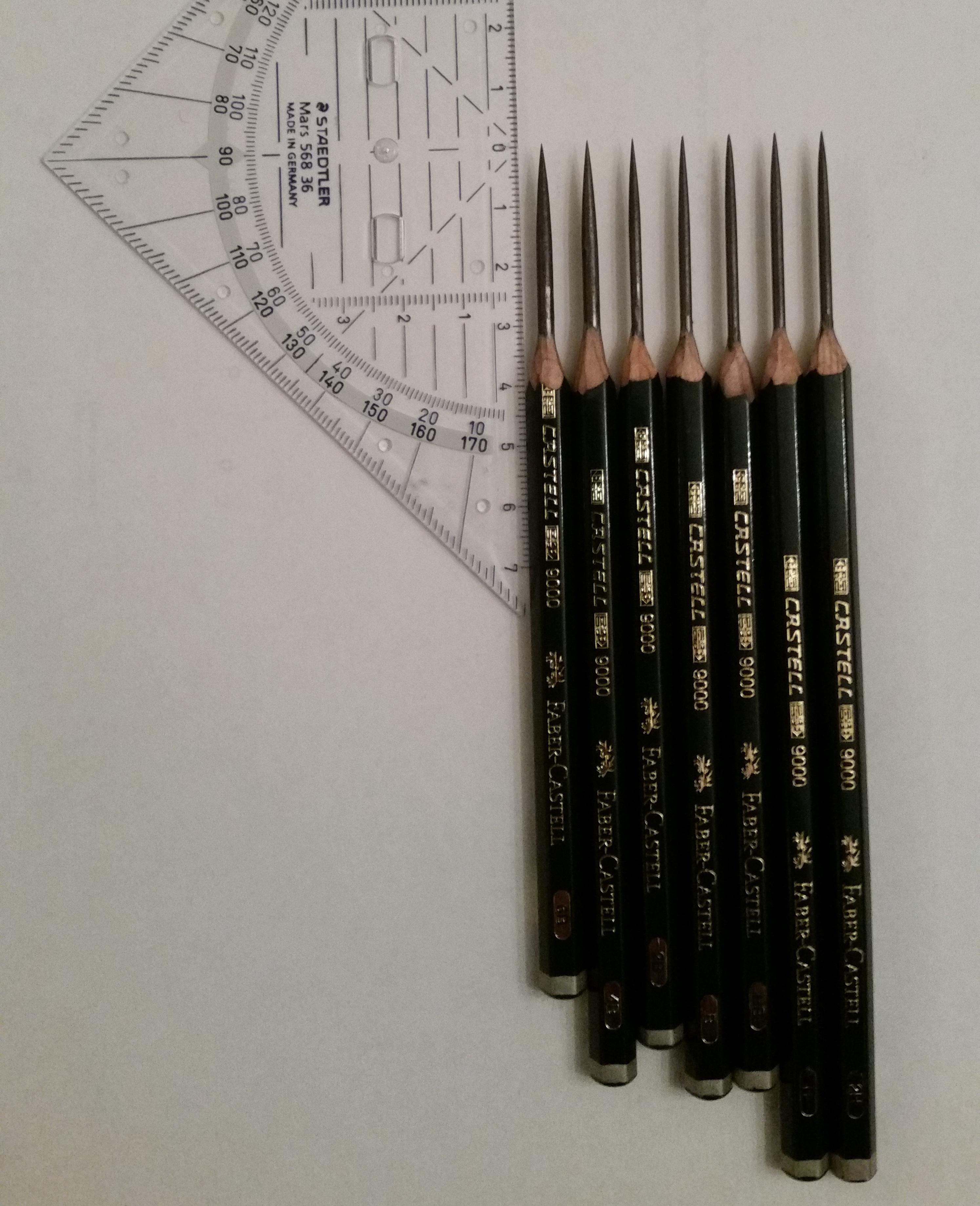 Beautiful penciltips photo