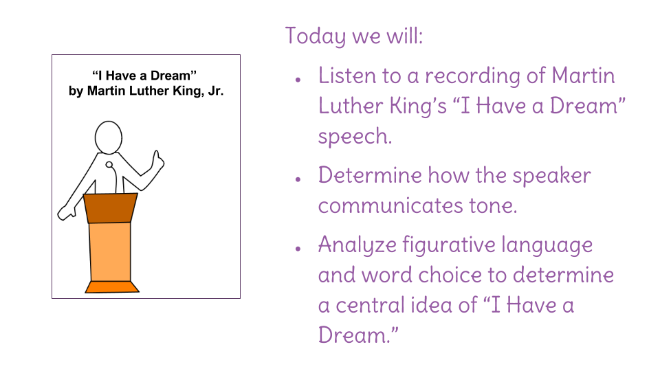 Lesson 21 I Have a Dream Guided Reading – I Have a Dream Speech Worksheet