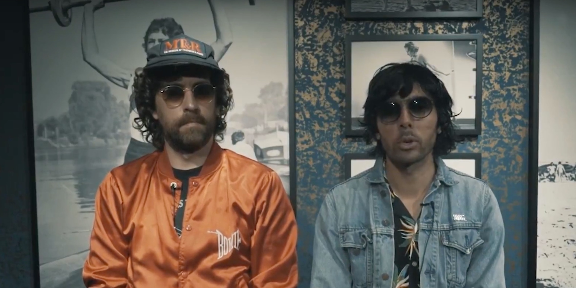 Justice look back on their discography – watch