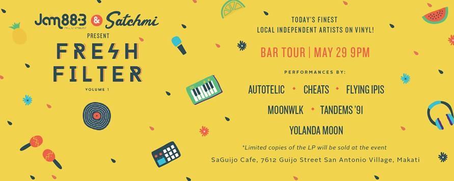 Fresh Filter Vol 1 Bar Tour: Saguijo