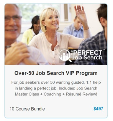 Over-50 Job Search Course