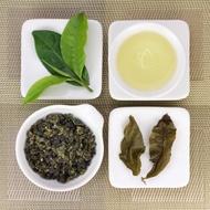 Lightly Baked Organic High Mountain Jin Xuan Oolong Tea, Lot 589 from Taiwan Tea Crafts