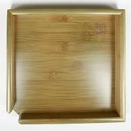 Green Bamboo Tea Tray for breaking pu-erh cake from Teaware