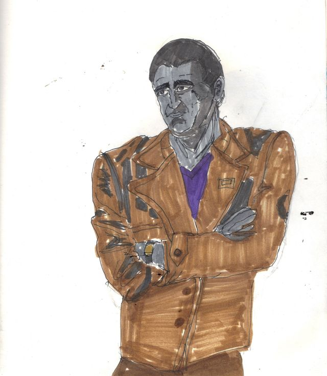 image: CHRISTOPHER ECCLESTON. 9TH DOCTOR. $5.00