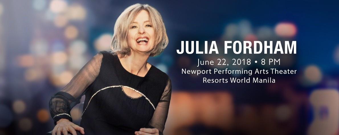Julia Fordham Live in Manila