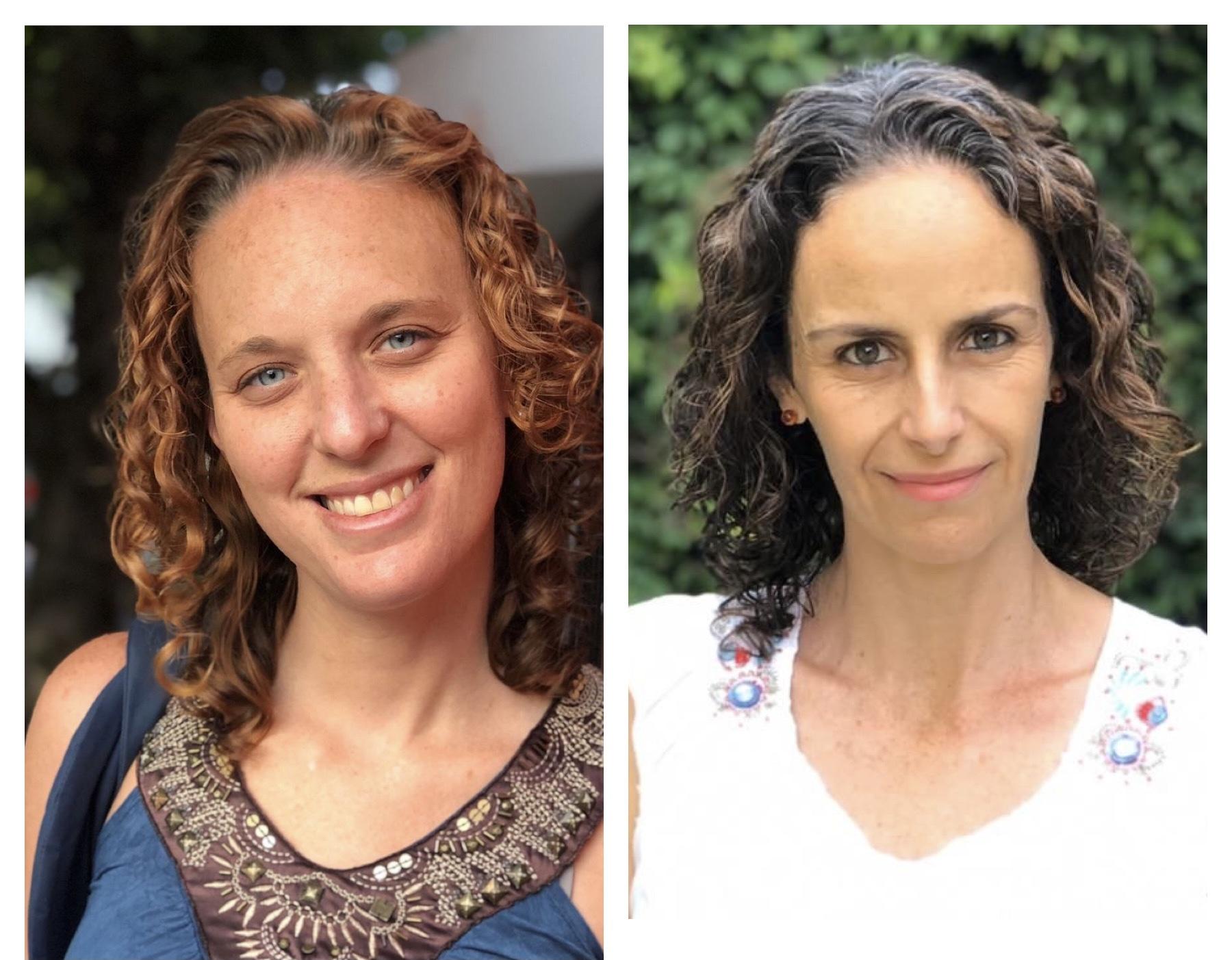 Liat Fridman y Pilar Sarre