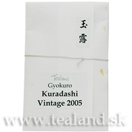 Gyokuro Kuradashi Vintage 2005 from Tealand.sk