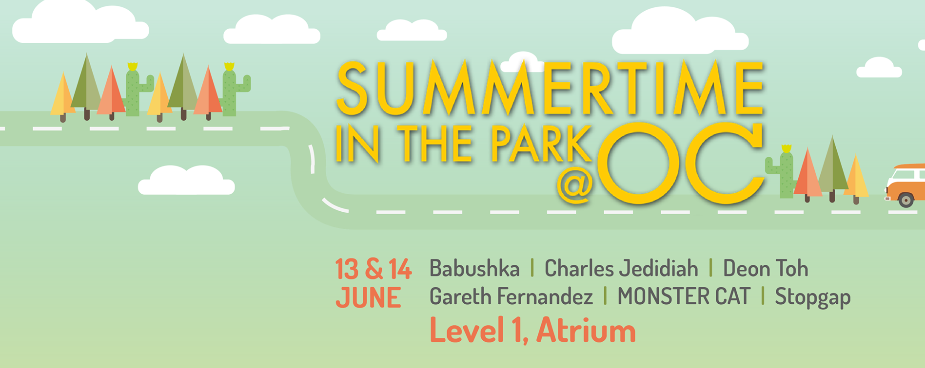 Summertime in the Park @ OC by Bandwagon