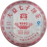 2007 Menghai Dayi 8592   Ripe from Menghai Tea Factory