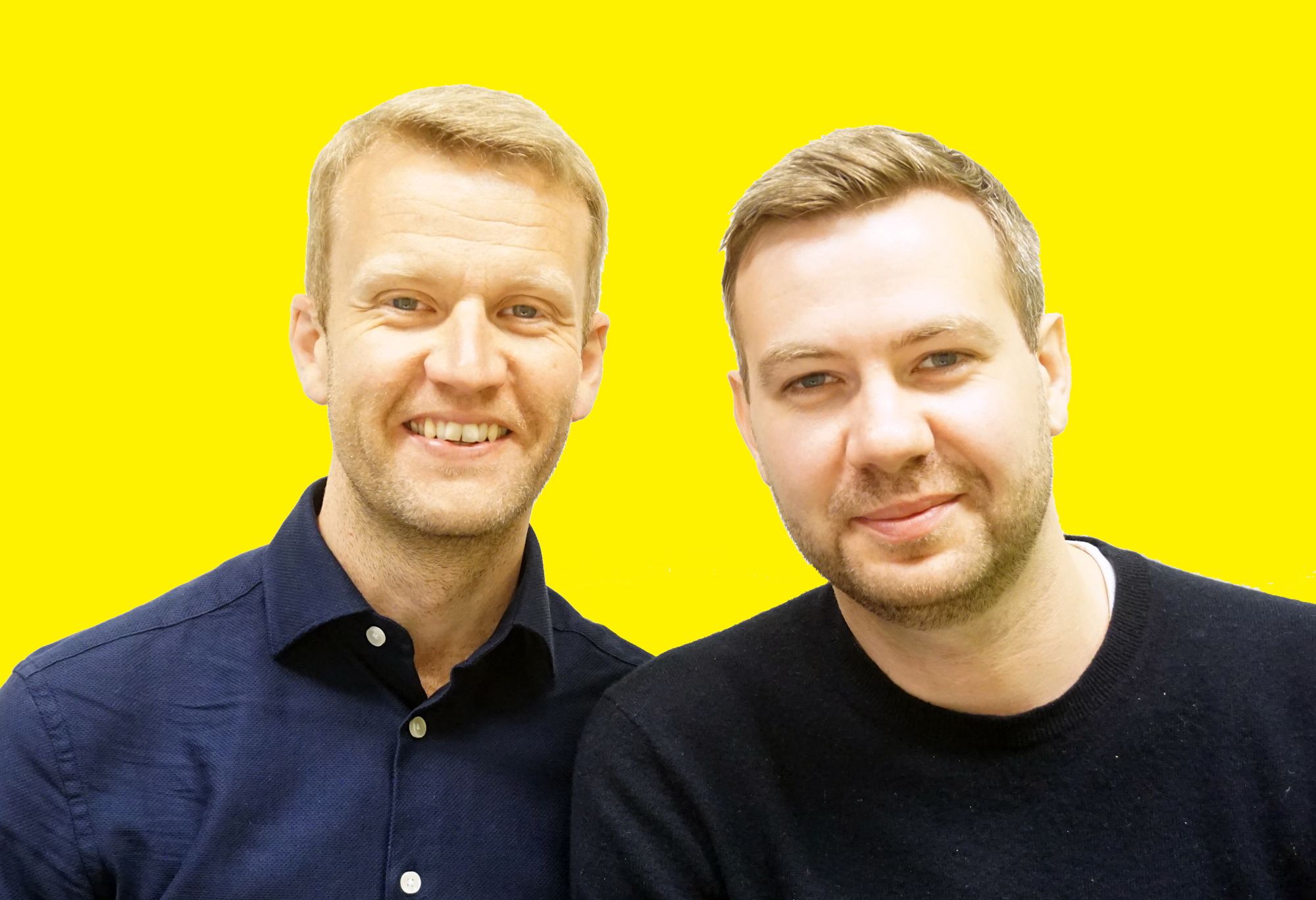 Michael Murdoch and Robbie Dale
