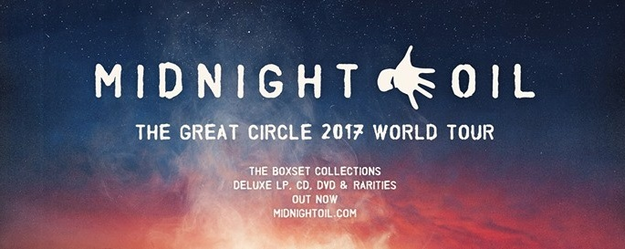 Midnight Oil The Great Circle 2017 - The Star Theatre, Singapore