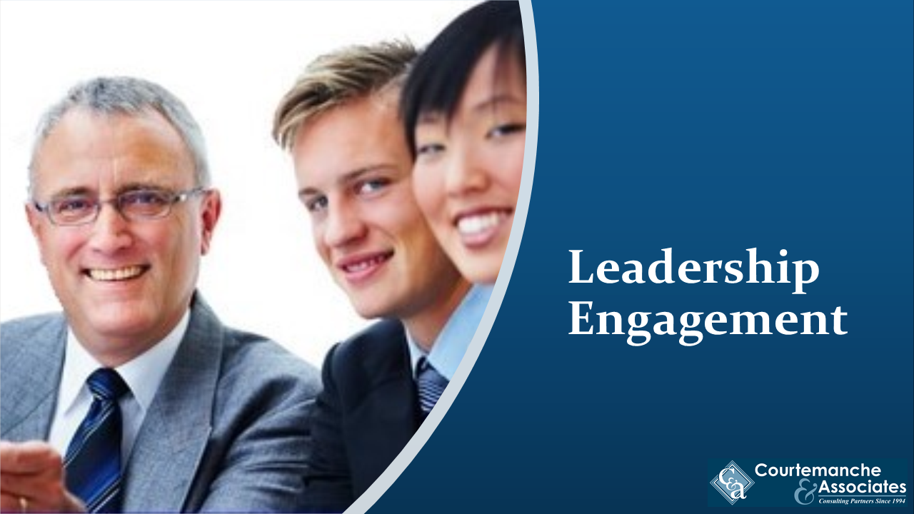 When leaders are engaged, patient and staff safety ensues