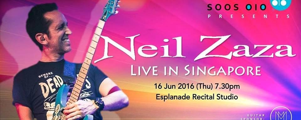 Neil Zaza Live in Singapore