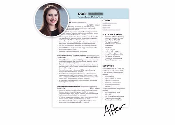 Resume Makeover Template | Career Contessa
